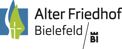 Logo alter friedhof